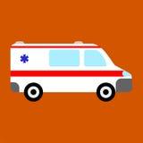 Ambulansowa samochodowa ikona ilustracji