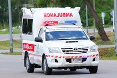 Ambulansowy pickup fotografia royalty free