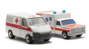 ambulansowy samochodowy nagły wypadek Fotografia Stock
