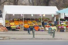 Ambulant market Royalty Free Stock Images