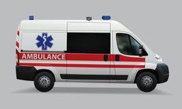 ambulant Speciala medicinska medel Realistisk bild klar vektor för nedladdningillustrationbild stock illustrationer