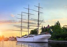 Ambulanter Händler in Stockholm Schweden Lizenzfreies Stockbild