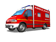 Ambulanza Immagine Stock
