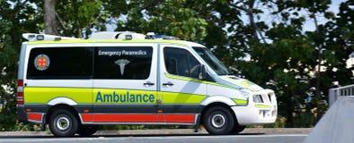 Ambulanza australiana Fotografie Stock