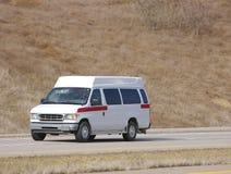 Ambulanza in bianco Fotografie Stock