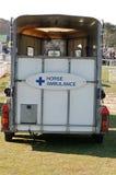 Ambulanza del cavallo Fotografie Stock