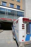 Ambulanza dell'ospedale fotografie stock