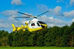 Ambulanza di aria, Essex, Inghilterra Fotografia Stock Libera da Diritti