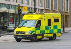 Ambulanza di emergenza di Londra immagine stock libera da diritti