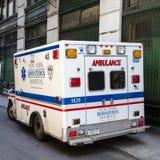 Ambulanza di New York Fotografie Stock Libere da Diritti