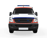 Ambulância isolada Imagens de Stock