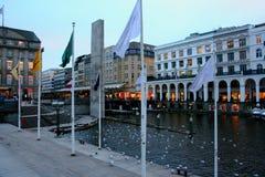 Amburgo centrale, Germania Fotografie Stock Libere da Diritti
