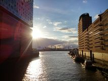 Amburgo Elbphilharmonie Immagini Stock Libere da Diritti
