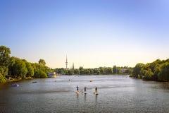 Amburgo, Germania Immagini Stock Libere da Diritti