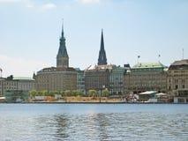 Amburgo, Germania Fotografia Stock Libera da Diritti