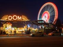 Amburgo, Germania - 4 aprile 2016: I DOM famosi dell'hamburger, Fotografie Stock