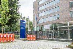 Amburgo, Germania - 13 luglio 2017: Le sedi di Beiersdorf è responsabili della fabbricazione del personale Immagine Stock Libera da Diritti