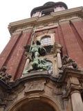 amburgo germany Panorama della città Chiesa della st Michael Fotografia Stock