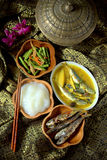 Ambuyat - Brunei national dish Stock Photography