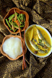 Ambuyat - Brunei national dish Stock Photos