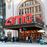 AMC On 42nd Street in NYC. Stock Images