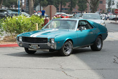 AMC AMX car on display Royalty Free Stock Photo