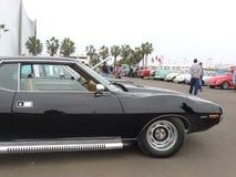 AMC AMX modela 304 dardy samochód wyścigowy eksponujący w Lima obrazy stock