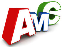 Amc royalty free illustration