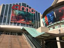 Free AMC Burbank Theater Promoting Godzilla Vs Kong In 2021 Stock Photography - 214595742