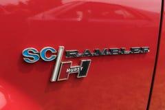 AMC Hurst SC Rambler emblem on display Royalty Free Stock Image