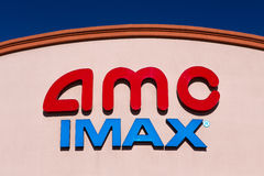 AMC IMAX Movie Theater Stock Images