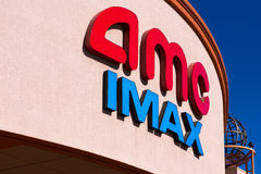AMC IMAX Movie Theater Royalty Free Stock Photo
