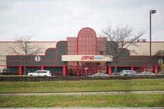AMC-Kino-Standort lizenzfreies stockbild