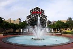 AMC Movie Theater, Disney Springs, Orlando, FL. Fountains outside the AMC Movie Theater in Orlando, FL royalty free stock photos