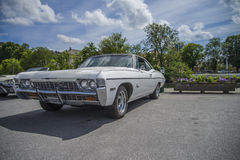 Amcar classic, 1968 chevrolet impala ss 327 Stock Photography
