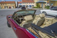 Amcar, 1970 pontiac lemans sport convertible, in cbin Royalty Free Stock Photos