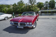 Amcar, 1970 pontiac lemans sport convertible Stock Photos