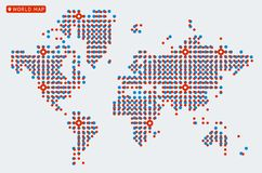 World Dot Map Stock Illustrations – 7,981 World Dot Map