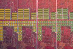 AMD@28nm@GCN_3th_gen@Fiji@Radeon_R9_Nano@SPMRC_REA0356A-1539_215-0862120___Stack-DSC01252-DSC01273_-_ZS-DMap Stock Photo
