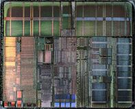 AMD_K6-III_Sharptooth(Model9)_400AHX___Stack-DSC08678-DSC08701_-_ZS-PMax Royalty Free Stock Image