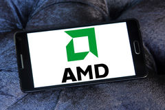 Amd-Logo Stockfoto