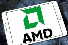 Amd logo Royalty Free Stock Image