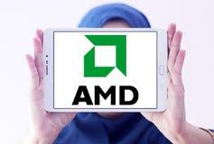 Amd logo Royalty Free Stock Images