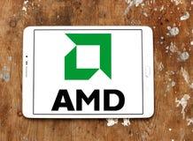 Amd logo Royalty Free Stock Photos