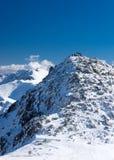amden teren blisko panoramy narciarstwa Switzerland zima Fotografia Royalty Free