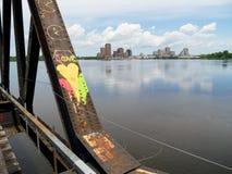 Ame a cidade Fotografia de Stock