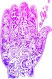 Doodles esboçados mão Imagens de Stock Royalty Free