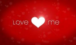 Ame-me Imagem de Stock