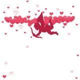 Ame o Cupid ilustração do vetor