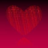 Ame-o dia de Valentim Fotografia de Stock